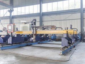 Интеллектуальный Gantry тип чпу для резки листового металла автоматическая машина плазменной и газовой резки