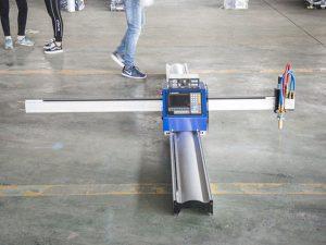 Новая технология портативный тип машины плазменной резки с чпу цена малый бизнес машин