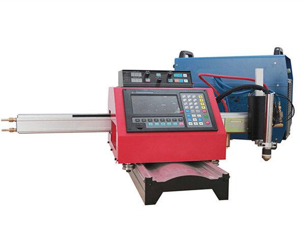 Портативный автомат для резки плазмы CNC и автомат для резки газа с стальным следом
