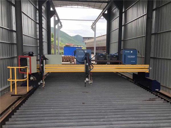 Станок для плазменной резки листового металла с ЧПУ размером 1500x3000 мм