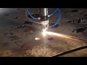 Сделано в китае торговли обеспечение дешевой цене портативный резак с чпу для резки из нержавеющей стали, металлического железа